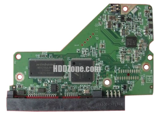 2060-771818-000 WD πλακέτα σκληρό δίσκο